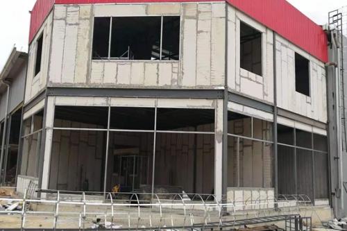 久和建材城庫房建設施工安裝中